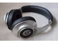 Beats by Dr. Dre Executive Silver Over-Ear Headphones
