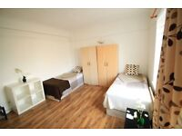 XXL TWIN ROOM AVAILABLE NOW IN NORTH LONDON !! 13M