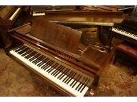 Marshall & Rose grand piano in Fiddleback mahogany - Tuned & UK delivery available
