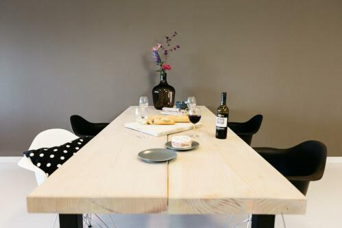 Grote Houten Tafels : ≥ grote lengte horeca tafels duurzaam in hout kantoor en