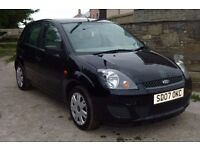 07 FORD FIESTA 1.4 TDCI. NEW MOT *FSH * 4 NEW TYRES * £30 TAX * 60/70MPG * RELIABLE & DRIVES WELL