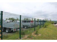 2.0m high (7ft) WaveGUARD weldmesh panel & post system