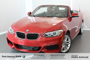 2016 BMW 2 Series 228i xDrive / Cam / M Package / Navigation
