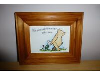 Set of 5 Winnie the Poo Pictures