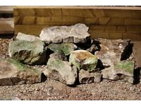 Rocks - Large weathered natural stones for a garden rockery