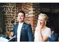 Documentary Wedding Photographer - Relaxed, Creative and candid style photography - Cambridgeshire.
