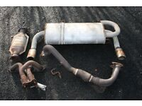 MGF Manifold, Downpipe, Cat & Exhaust