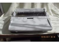 Brother Electronic Word Processing Typewriter with 16 character display, Collection Only