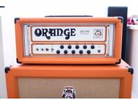 Orange AD140 Amplifier Head with Pro Flight Case owned by Faithless // PX Trade