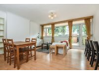 Manitoba Court - A four bedroom split level maisonette with private garden moments from station