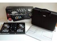 Native Instruments Traktor Kontrol S2 MK2 DJ Controller + Decksaver & Magma case