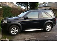 LANDROVER FREELANDER TD4 3 DR - BLACK- REMOVABLE - HARD TOP