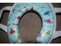 Brand New Potty Seat and White Potty