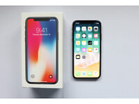 UNLOCKED APPLE IPHONE X 256GB SPACE GREY WITH WIRELESS CHARGER & ACCESSORIES