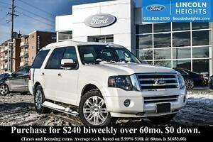 2011 Ford Expedition LIMITED 4WD - LEATHER - BLUETOOTH - POWER M