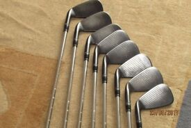 Golf clubs Wilson Staff FG M3 forged irons 4to gap wedge