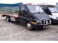 ford transit recovery 51 plate 15 ft bed