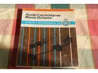 Rare Austin Cambridge / Morris Oxford workshop manual
