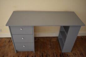 Grey, 3-Drawer Office Desk (Argos Home)
