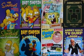 8 x Children's Annuals, Excellent Condition