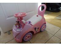 Minnie Mouse Ice Cream Van Ride On