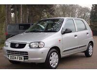 Suzuki Alto 1.1 GL 5dr 1 OWNER FROM NEW , £30 ROADTAX