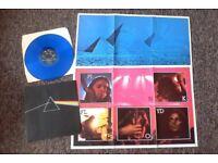Job lot of 10 vinyl records: beatles led zeppelin the who santana pink floyd neil young