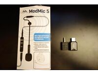 Antlion Modmic 5.0 Boom Microphone - Headset mic PLUS Antlion USB soundcard