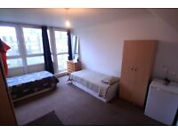 Amazing XL size Twin Room perfect for 2 friends in nice and clean flat, 5min to Gospel Oak, 78k