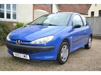 PEUGEOT 206 EXCELLENT RUNNER WITH FULL SERVICE HISTORY FROM NEW