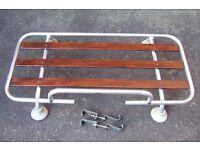 Paddy Hopkirk aluminium car boot rack