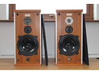 B&W DM4 1970s Vintage Speakers - Excellent Sound - Good Clean Working Condition
