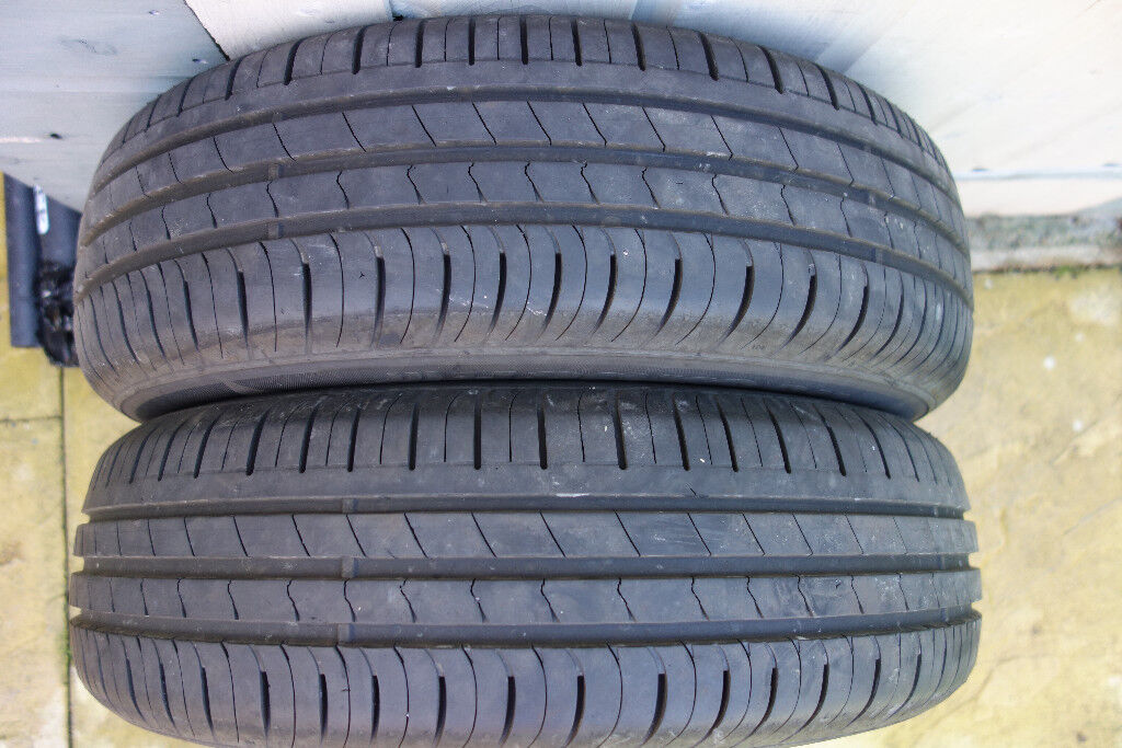 2x tyre 165/70/14 Hankook tyres