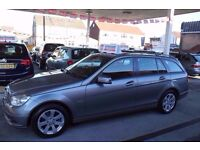 Mercedes-Benz C Class 2.1 C220 CDI BlueEFFICIENCY SE 5dr TWO KEYS