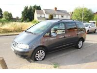 2007 Volkswagen Sharan 1.9 TDI PD SE 5dr Diesel Automatic Long MOT Timing belt changed