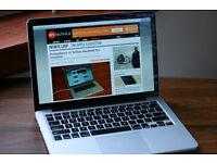 """Macbook Pro retina 2014 13"""" , i5 - 8GB - 512 GB SSD . Final cut , Logic Pro , office"""