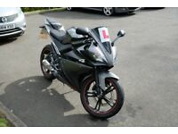 Yamaha YZF R125- perfect learning bike post CBT