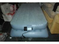 Aerobed Comfort Classic Raised Bed Airbed. Inflatable Guest Bed SINGLE