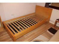 MUST GO: Two IKEA wooden single bed frames (£50 each ono)