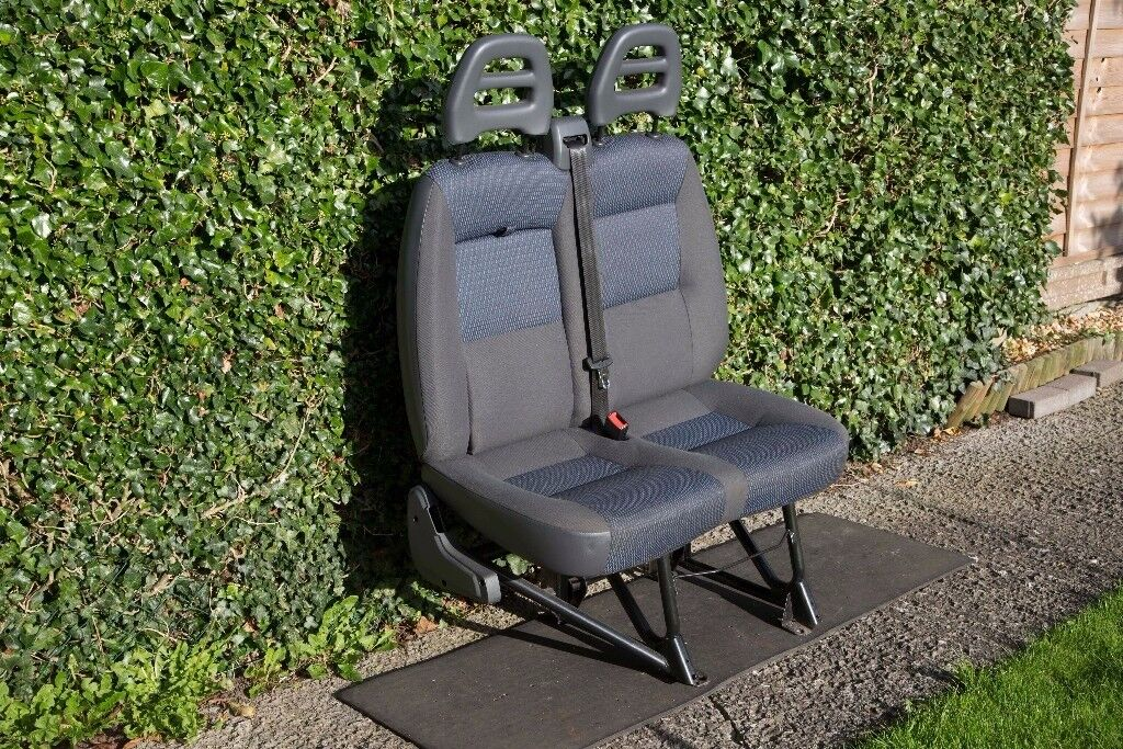 Twin Passenger Seat to fit Peugeot Boxer / Citreon Relay from 2012 vehicle. Open to offers.