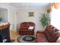Fully furnished 3 bedroom mid terraced house, recently decorated, with parking, garden and workshop