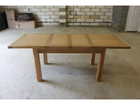 Medium Oak Extending Dining Table *NEW*