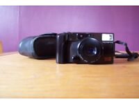Olympus AZ-200 Super 200m Camera with case