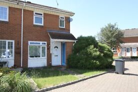 Unfurnished two bedroomed house in Lightwater within a two minute drive of the M3.