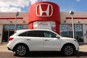 2014 Acura MDX 7 PASSENGER+NAV PACKAGE+AWD+HEATED SEATS+LEATHER