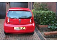SKODA CITIGO ELEGANCE 1.0 MPI 75PS TORNADO RED REGISTERED APRIL 2015