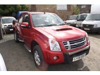 ISUZU RODEO DENVER MAX DOUBLE CAB – 08-REG