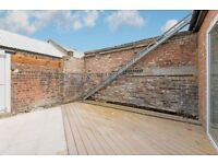 Beautiful modern two double bedroom flat with large outside terrace for rent in NW10