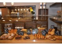 Countertop Glass Display Cabinet (Wooden Base) - Cafe/Coffee Shop/Bakery/Deli - Toughened Glass