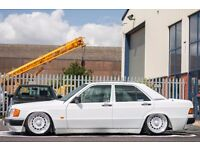 Mercedes 190E *Show Car* 1991 Reg 1.8 Petrol 3 Owners Low Milage!